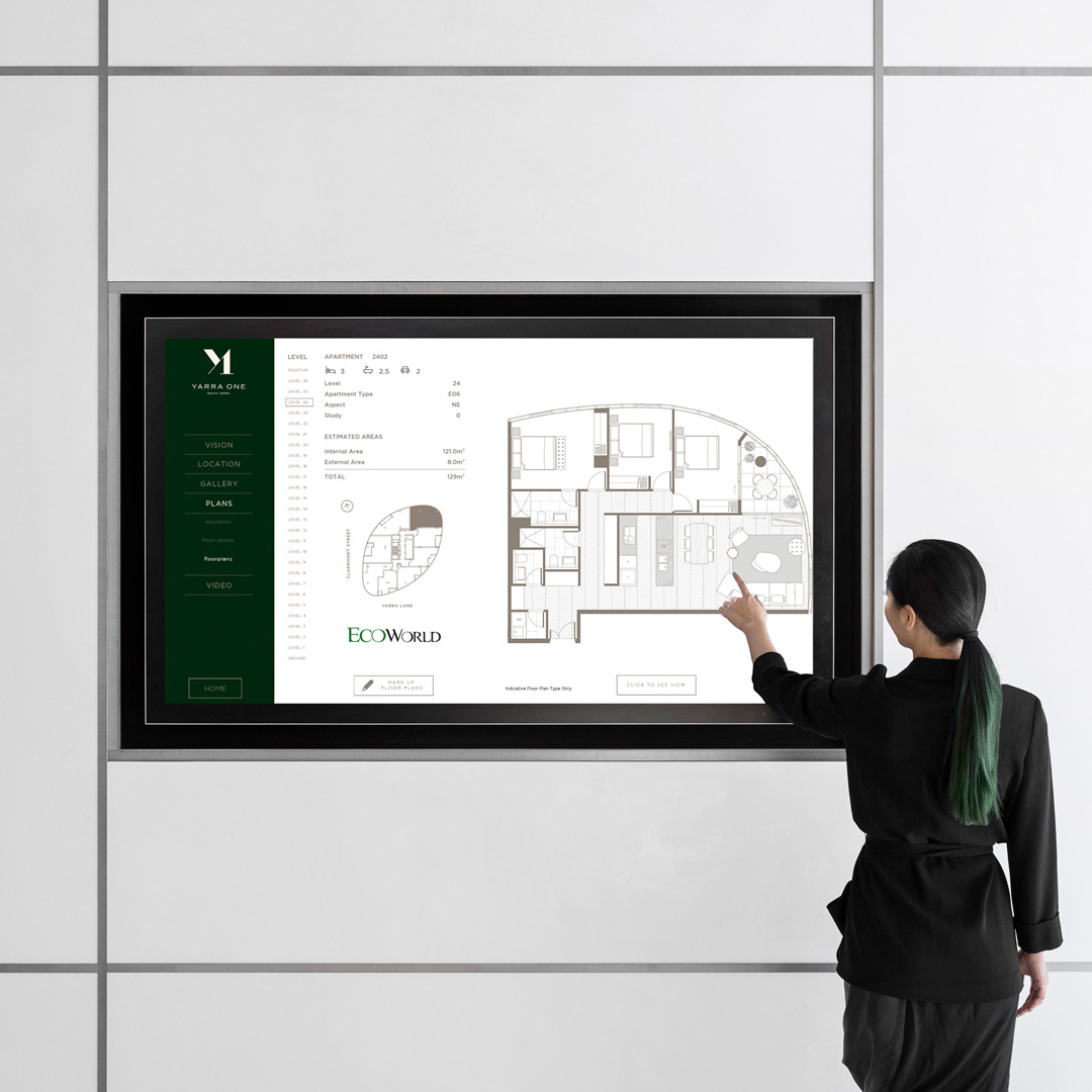 Display Suite Interactive Show Rooms - Digital Displays