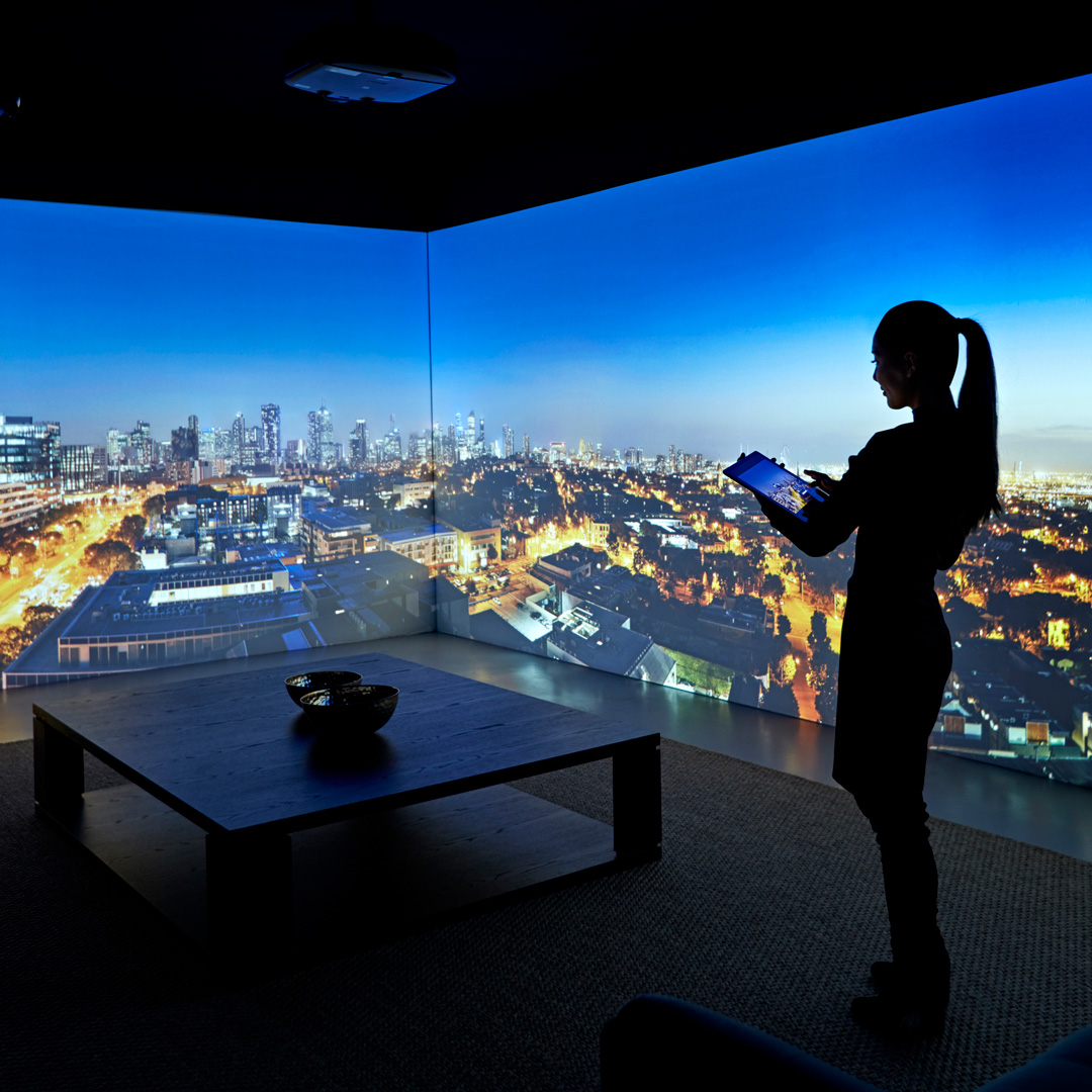 Display Suite Interactive Show Rooms - Immersion Room