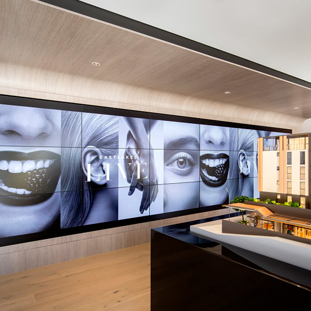 Display Suite Interactive Show Rooms - Immersion Walls