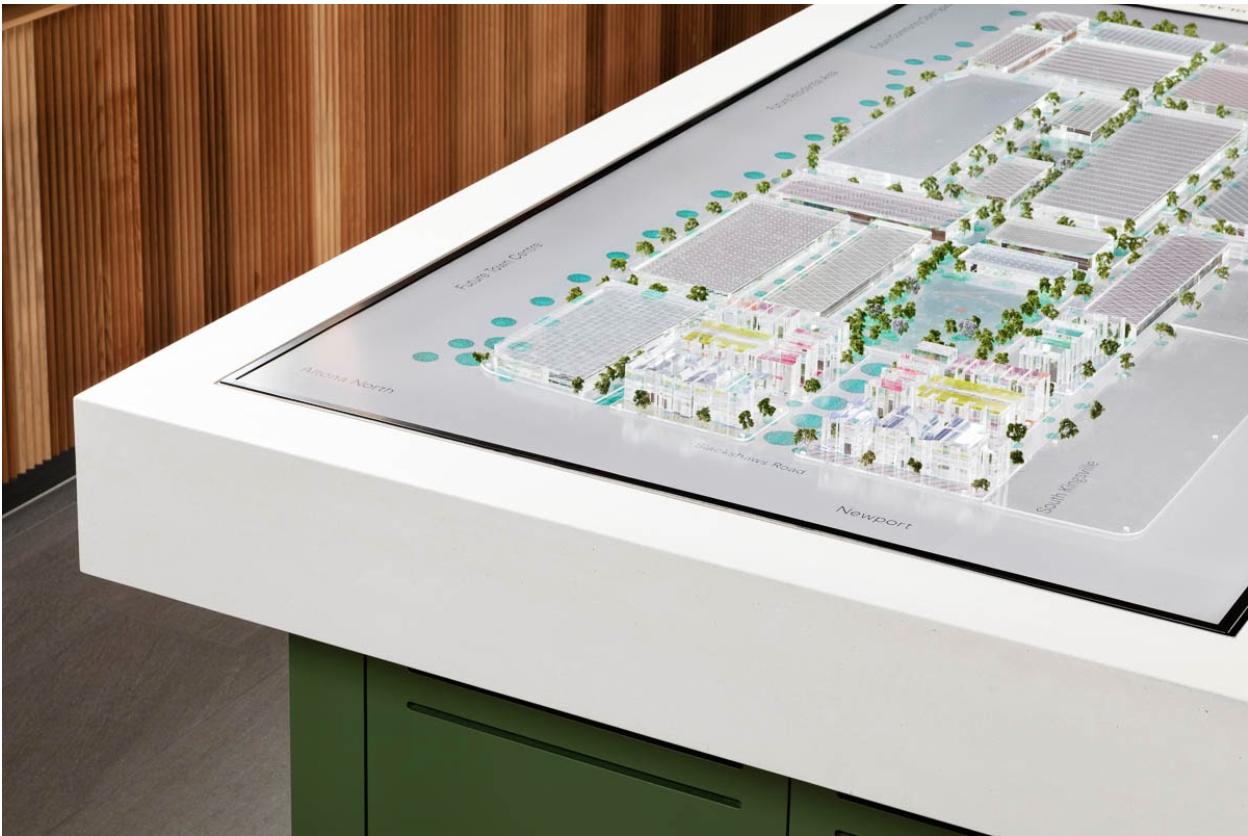 Mirvas Fabric Interactive Masterplan